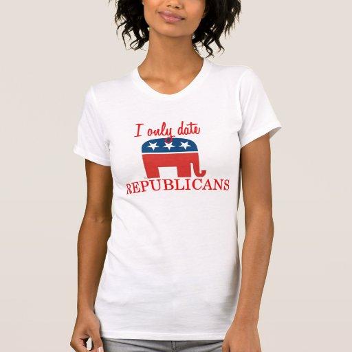 Solamente fecho a republicanos el tanque camisetas