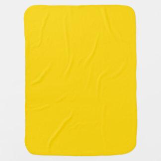 Solamente fondo bonito amarillo limón del color mantitas para bebé