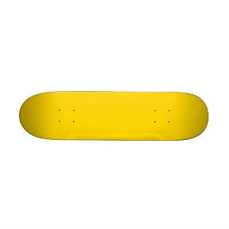 Solamente fondo bonito amarillo limón del color patin personalizado