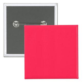 Solamente fondo bonito rosado fucsia del color pin cuadrada 5 cm