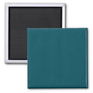 Solamente fondo elegante azul del color sólido del imán cuadrado