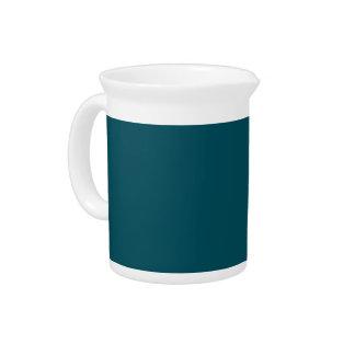 Solamente fondo elegante azul del color sólido del jarron