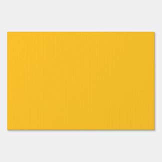 Solamente fondo elegante del sólido OSCB28 del oro Letreros