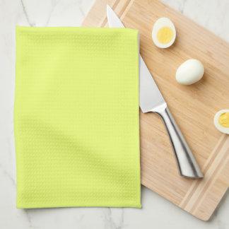 Solamente fondo fresco amarillo del color sólido toallas de mano