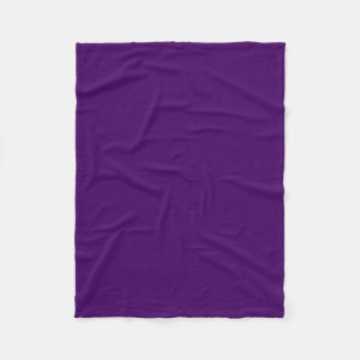 Solamente fondo fresco profundo púrpura del color manta de forro polar