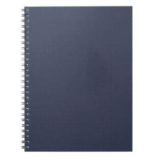 Solamente fondo lívido gris azul marino del color libro de apuntes