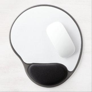 Solamente fondo moderno blanco del color sólido alfombrilla de ratón con gel
