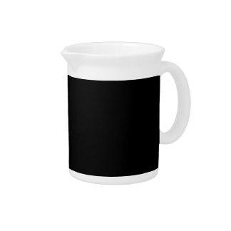 Solamente fondo negro fresco de color sólido jarras