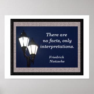 Solamente interpretaciones - impresión del arte