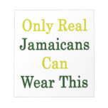 Solamente Jamaicans real puede llevar esto Bloc