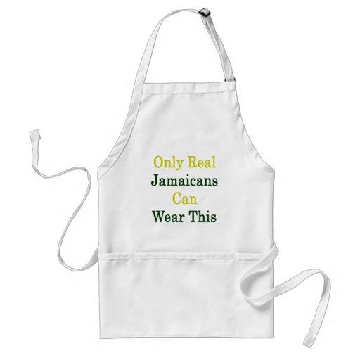 Solamente Jamaicans real puede llevar esto Delantal