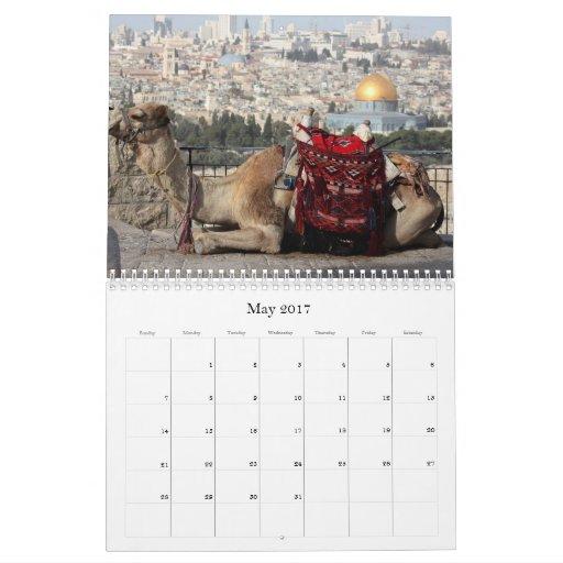 Solamente Jerusalén, Somente Jerusalém Calendario