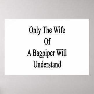 Solamente la esposa de un gaitero entenderá póster