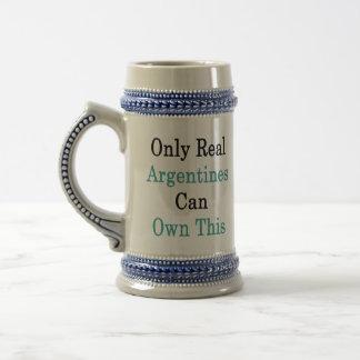Solamente las argentinas reales pueden poseer esto taza de café