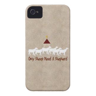 Solamente las ovejas necesitan al pastor iPhone 4 fundas