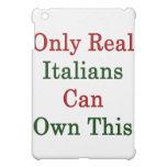 Solamente los italianos reales pueden poseer esto