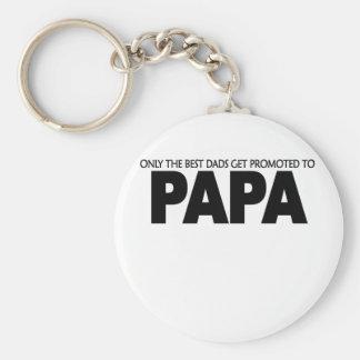 Solamente los mejores papás consiguen promueven a  llavero personalizado