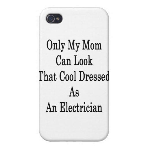 Solamente mi mamá puede mirar que fresco vestida c iPhone 4/4S fundas