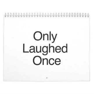 Solamente Once.ai reído Calendarios De Pared