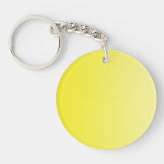 SOLAMENTE pendientes del COLOR - limón amarillo Llaveros