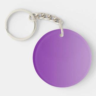 SOLAMENTE pendientes del COLOR - púrpura Llaveros