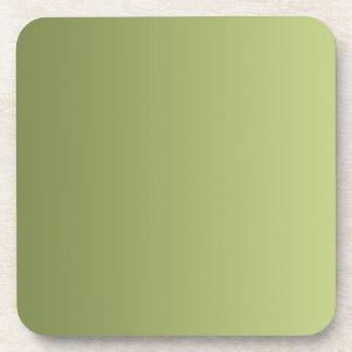 SOLAMENTE pendientes del COLOR - verde verde oliva Posavasos De Bebidas