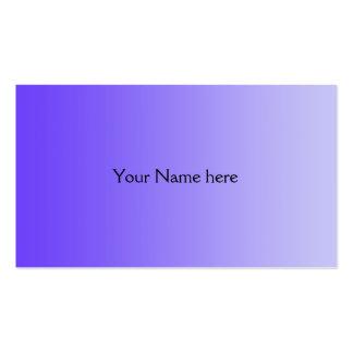 SOLAMENTE pendientes del COLOR - violeta Tarjetas De Visita