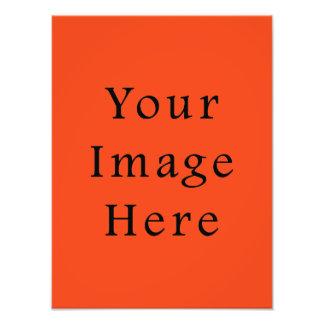 Solamente plantilla anaranjada brillante del espac fotografia