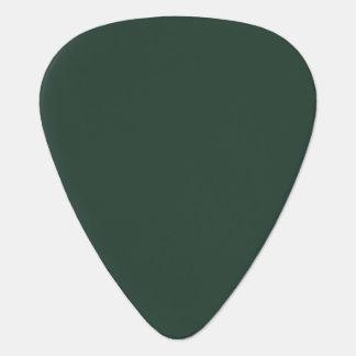 Solamente púas de guitarra verdes del uñeta de guitarra