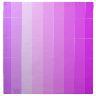 Solamente púrpura Ombre del color Servilleta