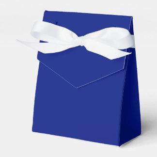Solamente sólido elegante azul marino fresco caja para regalo de boda