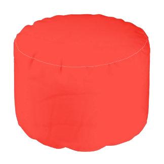 Solamente taburete rústico del personalizado del puf redondo