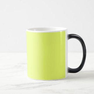 Solamente tazas amarillas del personalizable del