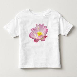 Solamente un flor de Lotus + su texto y ideas Playeras