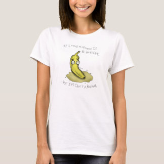 Solamente una camisa del plátano