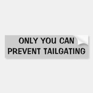 Solamente usted puede prevenir chupar rueda pegatina para auto