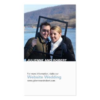 Solamente usted tarjeta moderna del Web site del Tarjetas De Visita