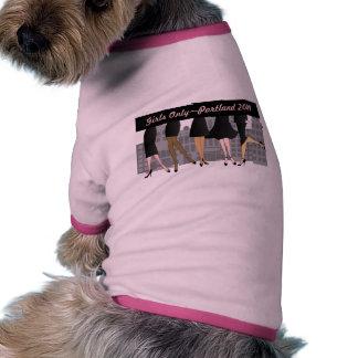 Solamente-Versión 3 de los chicas Camisetas Mascota