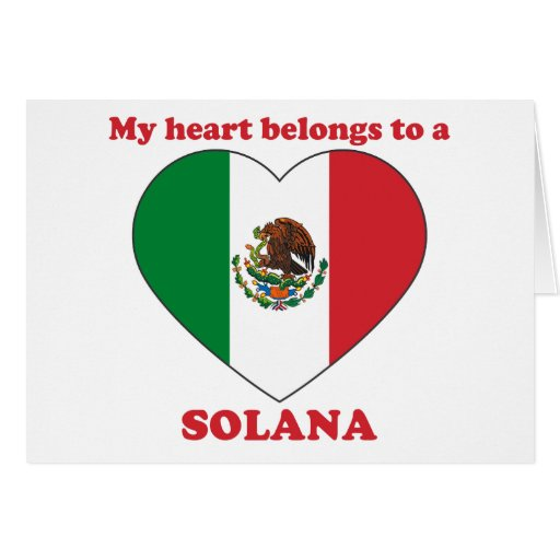Solana Greeting Card