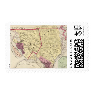 Solano Co 7 Postage Stamps