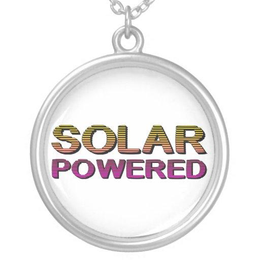 solar accionado colgantes