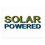 solar accionado postales