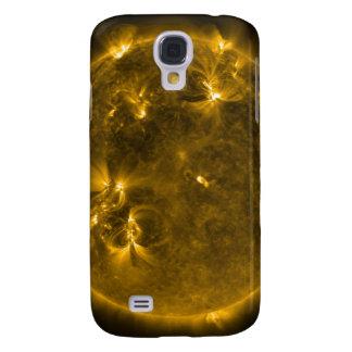 Solar activity on the Sun 4 Samsung S4 Case