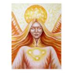 Solar angel 01 (detail) post card