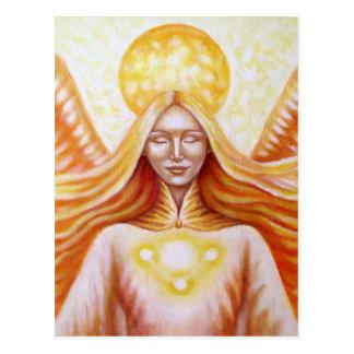 Solar angel 02 (detail) postcard