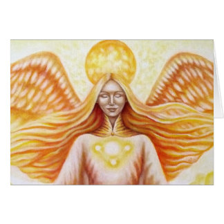 Solar angel (detail landscape) card