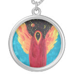 Solar Angel Necklace