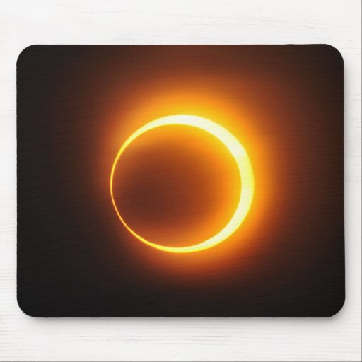 Solar Annular Eclipse of Jan 2010 in Jinan China Mouse Pads