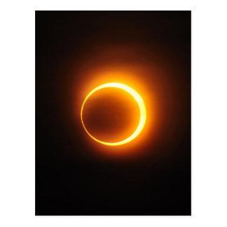 Solar Annular Eclipse of Jan 2010 in Jinan China Postcard