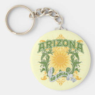 Solar Arizona Keychain